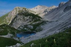jezero v Lužnici