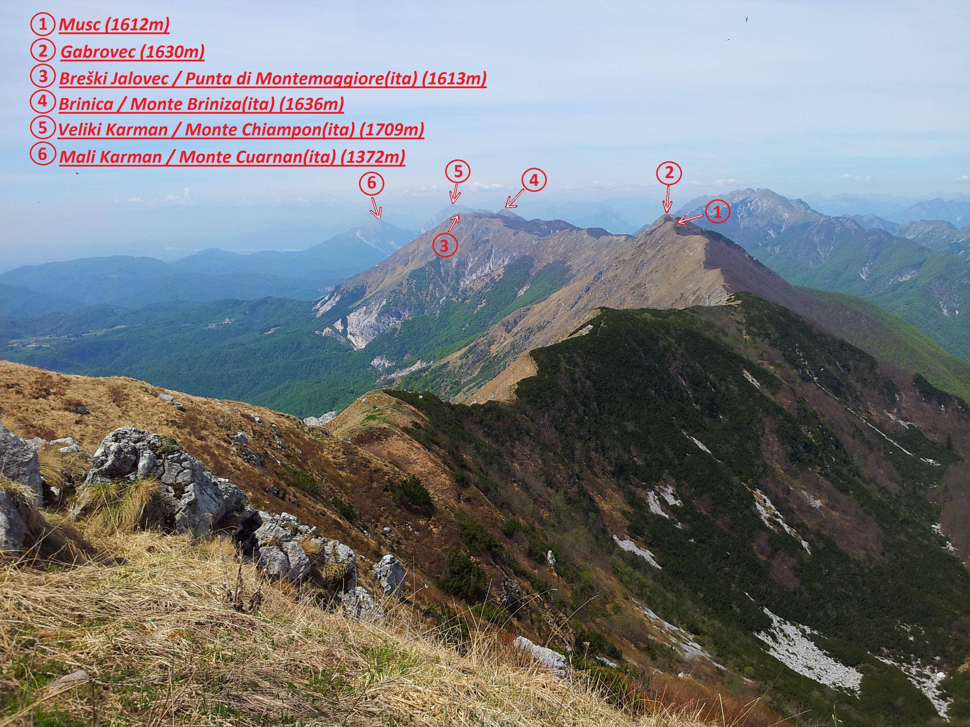stol hribi vreme ~ stol (1673 m)  planinsko društvo kobarid