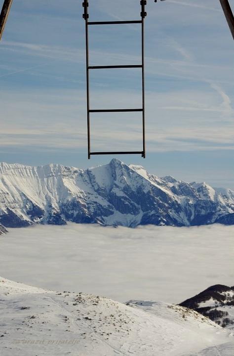 15 Vzpon na Krn je lahko tako božanski. Nekateri so tu nadeljevali svojo pot navzgor. Zadnjič...