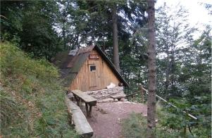 Bivak na Črniku (1160 m)
