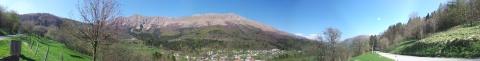 panorama pogorja Stola