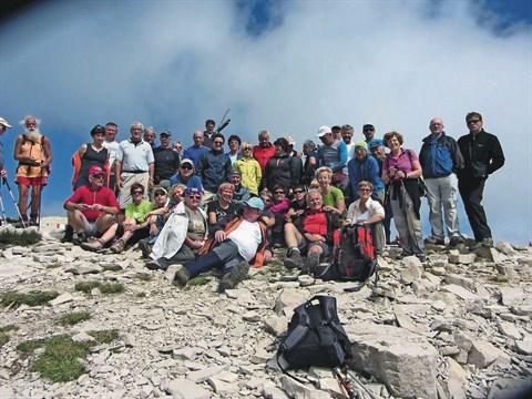 Čezmejno planinsko druženje