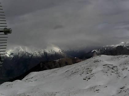 Spletna kamera na vrhu Stola (1673m) ob prb. 10.00h zjutraj 27.12.2013