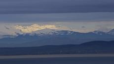 Pogled iz Kopra na Matajur