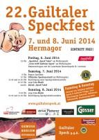 Gailtaler Speckfest (praznik slanine).