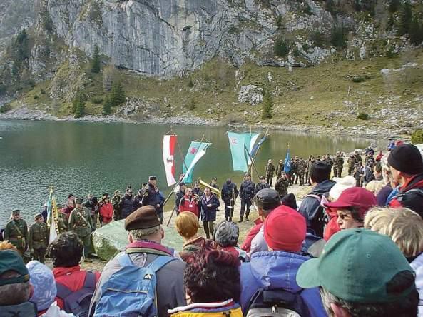 pohod spomina Krnska jezera