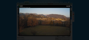 Spletna kamera iz Tarcenta(Čenta) na Gran Monte