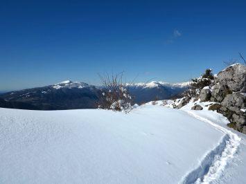 Zimska razglednica iz Mrzlega vrha (1359 m)