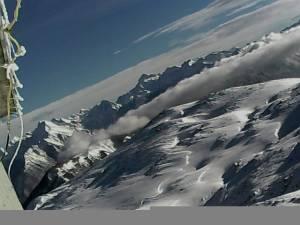 Z vrha Stola (1673m) pogled na Julijske Alpe 02.02.2015