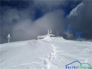 Na vrhu Matajurja.
